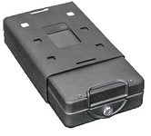 Bulldog Car/Personal Safe With Key Lock & Mounting Bracket and Cable