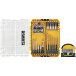 DeWalt Drill Drive Set with Tape Measure 52 pc.