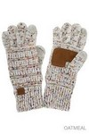 Ladies CC Gloves - Speckle Ivory