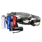 Dorcy Headlight and Flashlight Combo Pack