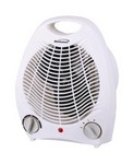 Brentwood Fan Forced Heater White Finish