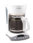 Mr. Coffee Advanced Brew 12 White Coffee Maker