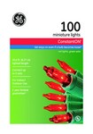 GE 100 Count Red Mini Lights