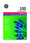 GE Constant On Incandescent Blue 100 count String Christmas Lights 20.6 ft.