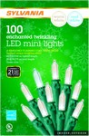 Sylvania LED Cool White/Warm White 100 count Light Set 24.75 ft.