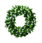 Celebrations 36 in. Dia. LED Prelit Christmas Wreath