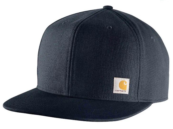 HAT ASHLAND CAP FLAT BILL BLK