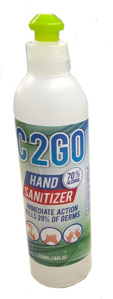 + HAND SANITIZER 6.78OZ FLIP T
